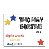 Two Way Sorting Set 2 Sight Words, Names and More