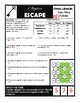Two-Way Tables Escape Room Challenge
