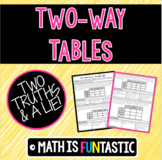 Two Way Tables Two Truths & a Lie