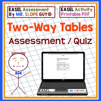 Two Way Tables Questions Test Bank 8.SP.A.4 Go Math Statistics BNK for ExamView