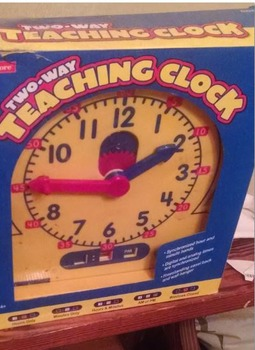 Two -Way Teaching Clock