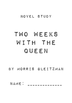 Two Weeks With the Queen Novel Study