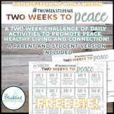 TWO WEEKS TO PEACE- a distance learning challenge