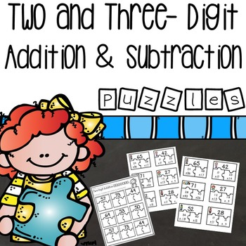 Two and Three Digit Addition and Subtraction Puzzles