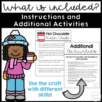 Two and Three-Digit Addition and Subtraction: Winter Themed Activity