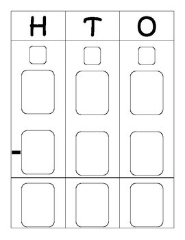 Two And Three Digit Addition And Subtraction Work Mat