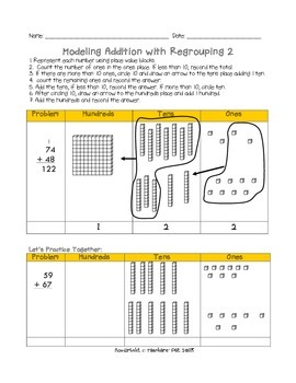 Two and Three Digit Addition and Subtraction with Regrouping