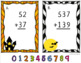 Two and Three Digit Addition with and without Regrouping Scoot