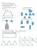 Two and Three-Dimensional Geometry