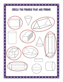 Two and Three Dimensional Shapes
