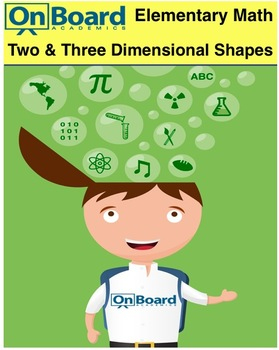 Two and Three Dimensional Shapes-Interactive Lesson