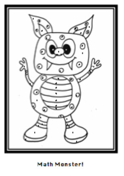 Two and Three Step Equations Coloring Activity (Math Monster)