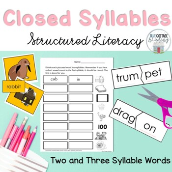 Two and Three Syllable Words (Closed Syllables)