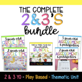 Two and Three Year Old BUNDLE