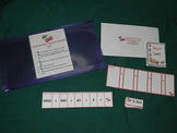 Two and Three digit Place value-expanded form-math center-file folder game