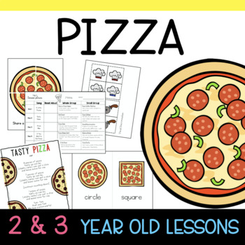 Two and Three's PIZZA Lesson Plans