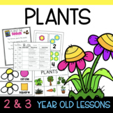 Two and Three's PLANTS Lesson Plans