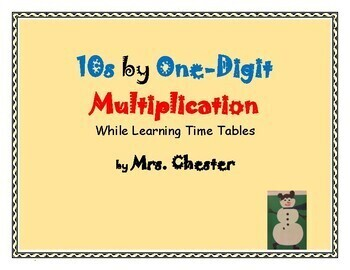 Two by One-Digit Multiplication While Learning Time Tables