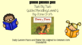 Two by Two (Level G) Guided Reading Lesson Plan