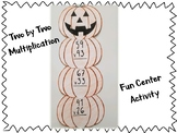 Two by Two Multiplication Halloween Activity