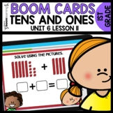 Two-digit Addition BOOM CARDS | DIGITAL TASK CARDS | Module 6 Lesson 11