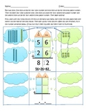 Two digit adding with regrouping worksheets