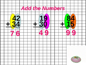 Two digit addition Math for Visual Learners