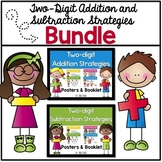 Two digit addition and subtraction posters and booklet bun