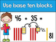 Two digit addition strategy posters and booklet