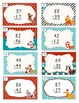 Two digit addition & subtraction task cards with and without regrouping