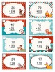 Two digit addition task cards with and without regrouping