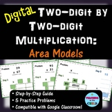 Two-digit by Two-digit Multiplication - Area Models | Dist