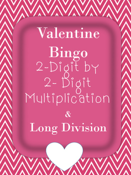 Two digit by two digit multiplication and long division