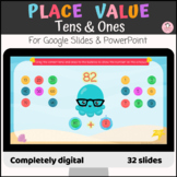 Two digit numbers represent Tens and Ones Place value Digi