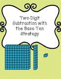 Two digit subtraction with base ten