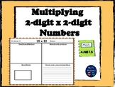 "Two-digit x two-digit multiplication ""Traditional Method a"