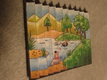 Two-in-One Summer and Winter. Fun Craft Art