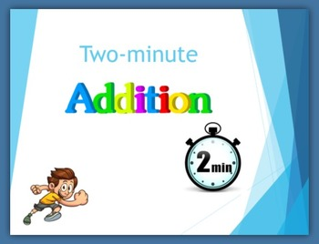 Two-minute Addition