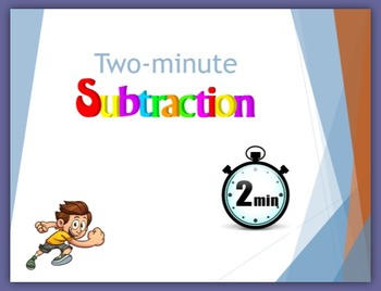 Two-minute Subtraction