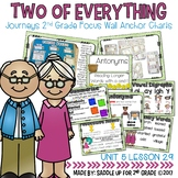 Two of Everything Focus Wall Anchor Charts and Word Wall Cards