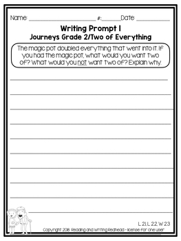 Two of Everything-  Journeys Second Grade Week 29