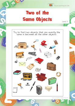 Two of the Same Objects (Visual Perception Worksheets)