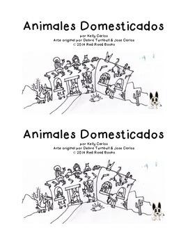 Two printable thematic books for Animal theme/ Animales Salvajes