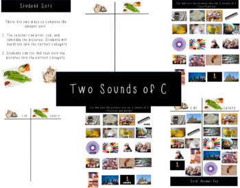 Two sounds of C and G BUNDLE