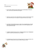 Two step Addition Word Problems-Christmas Themed