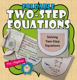 Solving Two-step Equations Foldable