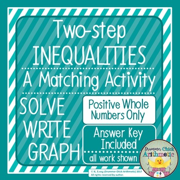 Two-step Inequalities Matching Activity