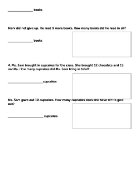 Two step word problems with regrouping
