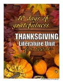 THANKSGIVING UNIT for TEENS! Two weeks of gratitude