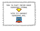 Twos (2) Multiplication Game: Superhero Owl